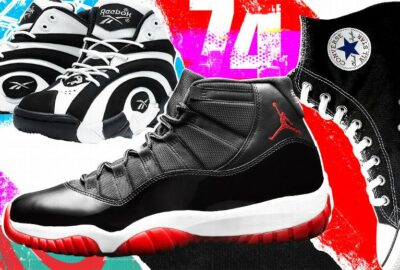 Ranking the top 74 sneakers in NBA history